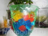 гидрогель кубики