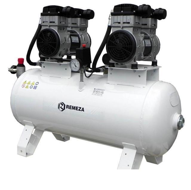 компрессор безмасляный поршневой 300 л/мин, 8 бар, 1.1 1.1 кВт. 220 В, ресивер 100 л.