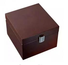 Подарочный короб деревянный для танкарда