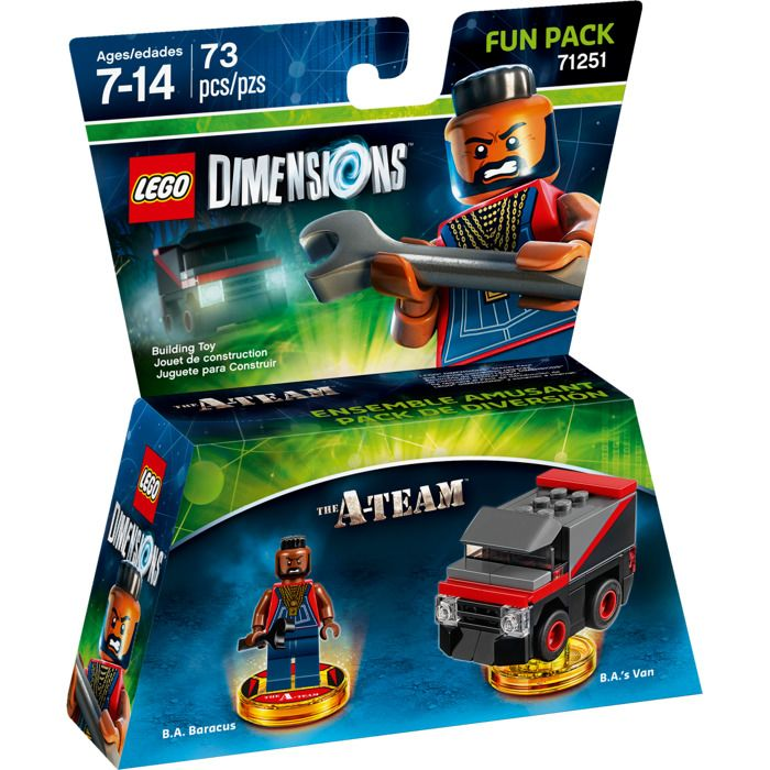 Lego Dimensions 71251 Fun Pack (B.A. Baracus) The A-Team