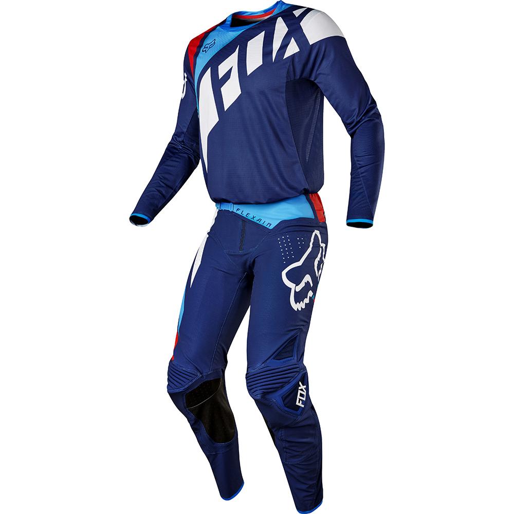 Fox - 2017 Flexair Seca комплект штаны и джерси, темно-синие