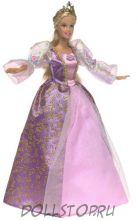 Barbie as Rapunzel  with Musical Hair Brush , 2001, Mattel - коллекционная кукла Барби как Рапунцель с музыкальной расческой