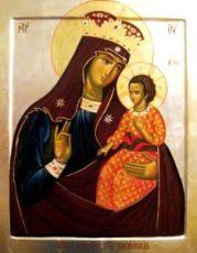 Писидийская икона Божией Матери (рукописная)