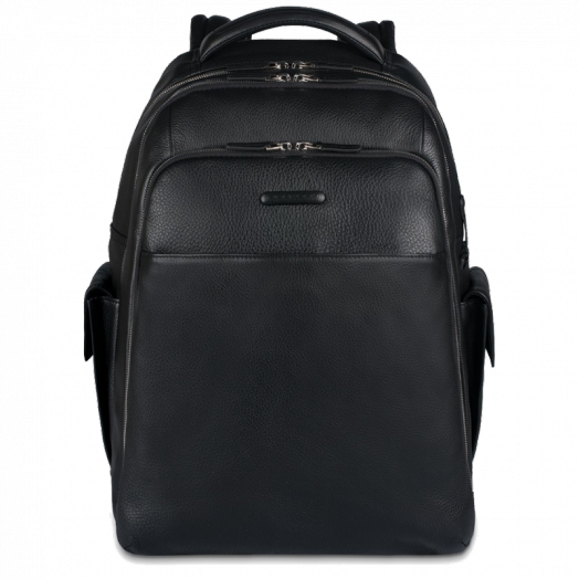 Рюкзак кожаный черный Piquadro MODUS CA3444MO/N