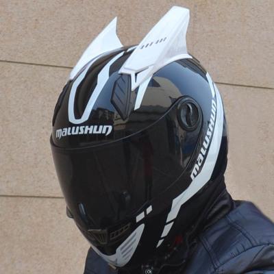 Мотошлем Marushin 999 (интеграл) черно-белый