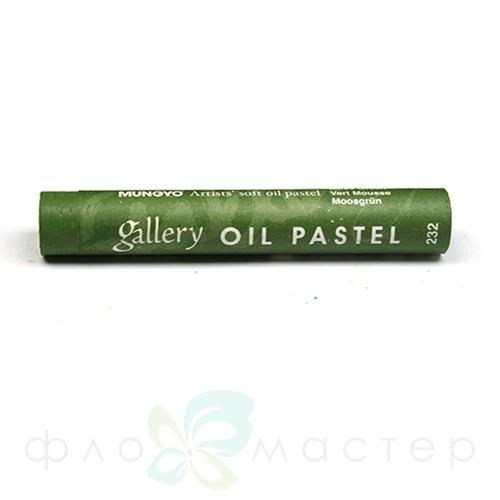 Пастель масляная мягкая профессиональная  MUNGYO, цвет № 232 Болотный Зеленый