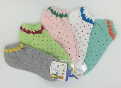 АКЦИЯ! Короткие, яркие женские носки из хлопка  Peter Rabit 36-39р-р