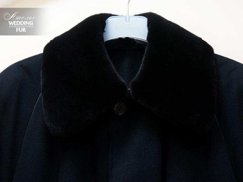 Пошив воротника к пальто Zilli