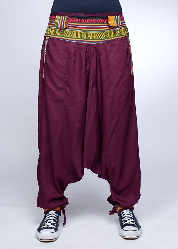 Непальские штаны афгани, унисекс (Москва)