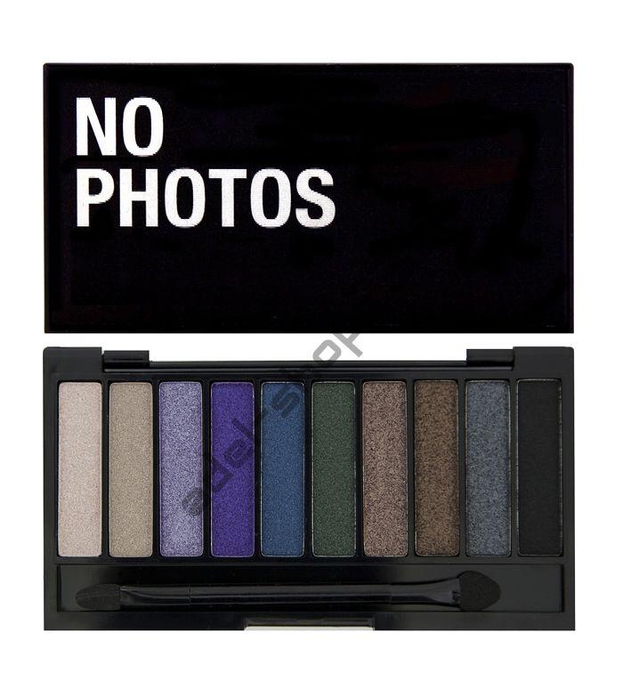 "I Love MakeUp - Тени для век ""I Heart Makeup Slogan Palette No Photos Please with FREE mini primer"""