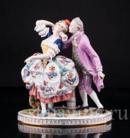 Пара в танце, Volkstedt, Германия, нач. 20 в., артикул 02816