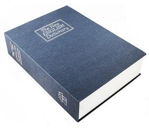 Книга-сейф Английский словарь (синий, 26,5 см)