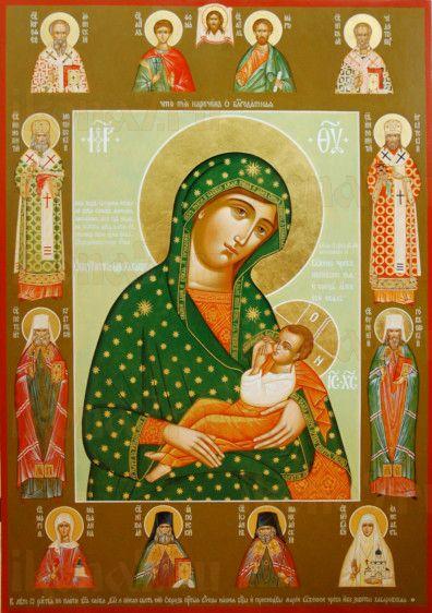 Барловская икона Божией Матери (рукописная)