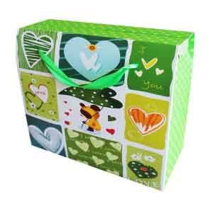 Набор Пакетов бумажных Зелень (5 шт)