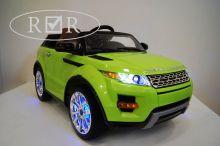 Детский электромобиль River Toys Range Rover A111AA VIP зеленый