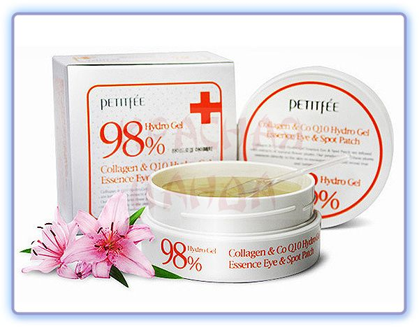 Petitfee Hydro Gel Collagen And CoQ10 Eye Spot Patch