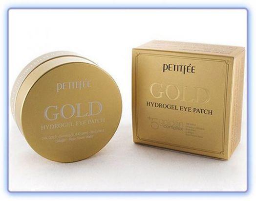 Патчи для глаз Petitfee Gold Hydrogel Eye Patch с золотом