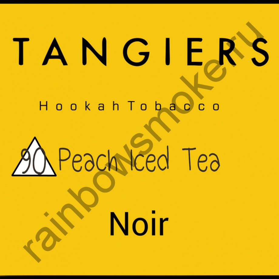 Tangiers Noir 250 гр - Peach Iced Tea (Персиковый чай со льдом)