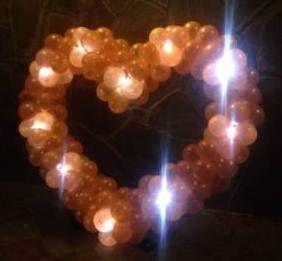 Сердце светящееся