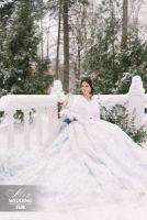купить накидку из норки для невесты фото