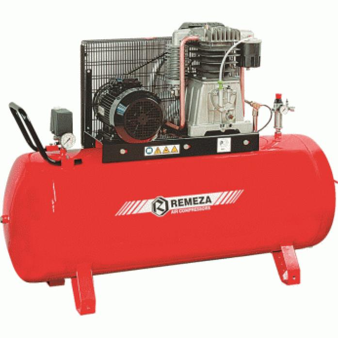 компрессор поршневой 1100 л/мин, 10 бар, 7.5 кВт. 380 В, ресивер 500 л.