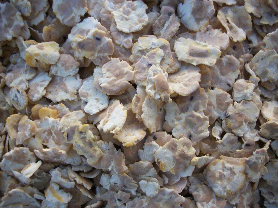 Микронизированные гороховые хлопья 20 кг Вознесеновские корма