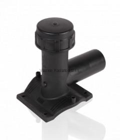 Седельный патрубок (седелка) для врезки под давлением 110x63 (SDR11, PE100) ROFITT