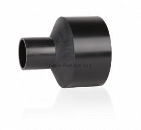Переход литой ПНД 125-110мм (SDR11, PE100) ROFITT