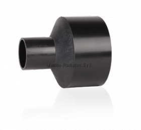 Переход литой ПНД 200-110мм (SDR17, PE100) ROFITT