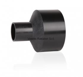 Переход литой ПНД 315-250мм (SDR11, PE100) ROFITT