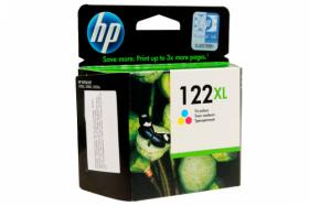 Оригинальный картридж HP CH564HE №122XL (трехцветный экономичный)