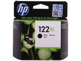 Оригинальный струйный картридж HP 122XL,  увеличенной емкости, Черный (CH563HE)
