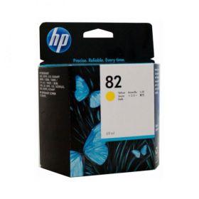 Картридж струйный оригинальный HP № 82 Magenta 69 мл, Желтый (C4913A)