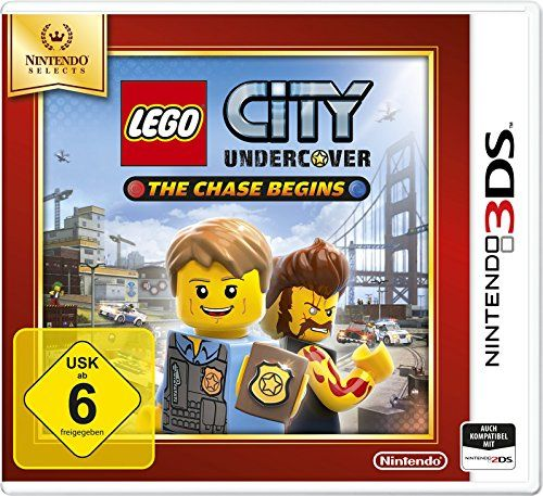 Игра Lego City Undercover The Chase Begins (Nintendo 3DS)