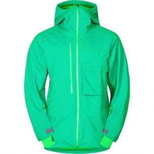 Norrona Lyngen driflex3 Jacket Chrome Green M