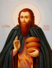 Прохор Печерский (рукописная икона)
