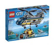 Lego City 60093 Вертолет исследователей моря #