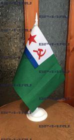 Флаг МЧ ПВ КГБ СССР (12Х18см на подставке)