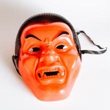 Маска карнавальная Дракула Вампир Красная