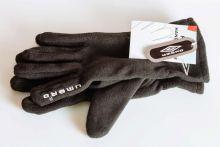 Флисовые спортивные перчатки UMBRO черные