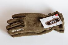 Флисовые спортивные перчатки UMBRO Коричневые