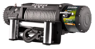 IRONMAN сталь Monster Winch 12000lbs 12V