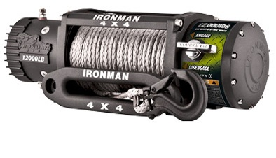 IRONMAN синтетика Monster Winch 12000lbs 12V