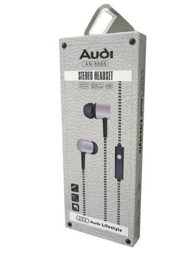 Наушники вакуумные - гарнитура AUDI AN-8888