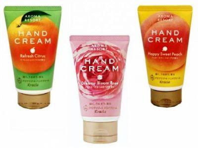 KRACIE Крем для рук Aroma Resort 70г аромат персика