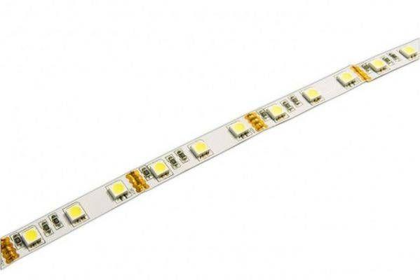 Светодиодная лента Jazzway 12В  теплый белый 14.4w/m IP20