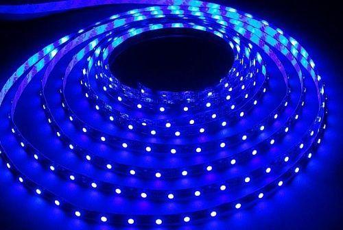 Светодиодная лента Jazzway 12В  синий 6w/m IP20