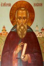Икона Варнава Ветлужский (рукописная)
