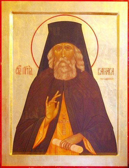 Икона Варнава Гефсиманский (рукописная)