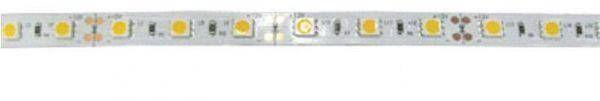 Светодиодная лента Ecola 12В  холодный белый 4,8w/m IP65